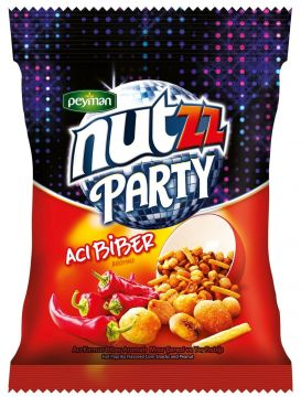 Peyman Nutzz Party Mix Acı Biberli 90 Gr