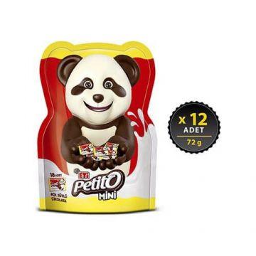 Eti Petito Mini Çikolatalar 72 Gr x 12 Adet