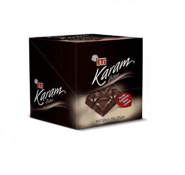 Eti Karam Bitter %45 Kakaolu 70 Gr x 6 Adet