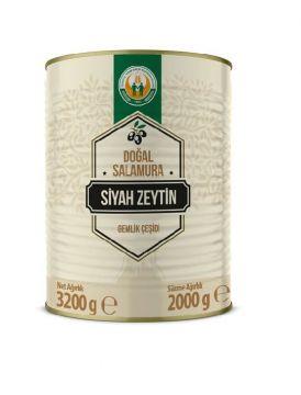 Tarım Kredi Gemlik Siyah Zeytin S Boy 2 Kg
