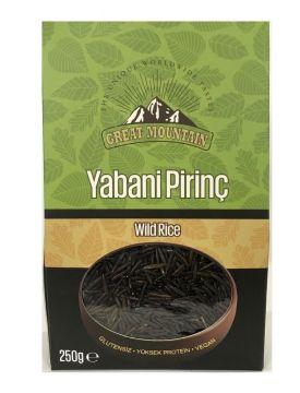 Great Mountain Siyah Yabani Pirinç 250 Gr