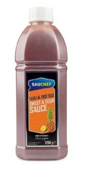 Sauchef Sweet & Sour Sos 2200 Gr