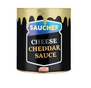 Sauchef Cheddar Cheese Sos 2800 Gr Teneke