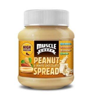 Muscle Cheff Proteinli Beyaz Çikolatalı Yer Fıstığı Kreması 390 Gr