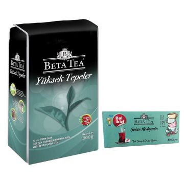 Beta Çay Yüksek Tepeler 1 Kg Şeker Hediyeli