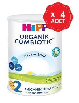 Hipp 2 Organik Combiotic Devam Sütü 350 Gr x 4 Adet