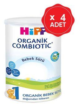 Hipp 1 Organik Combiotic Bebek Sütü 350 Gr x 4 Adet