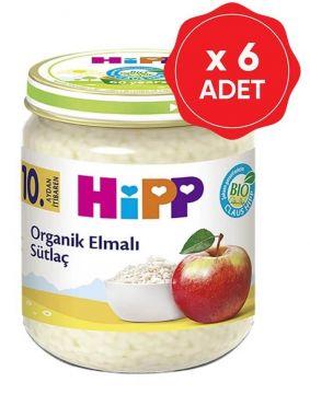 Hipp Organik Elmalı Sütlaç 200 Gr x 6 Adet