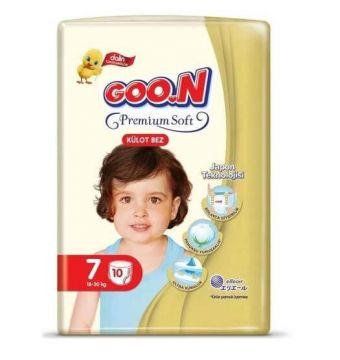Goon Premium Külot Bebek Bezi 7 Beden 10 Adet