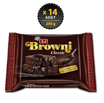 Eti Browni Classic Kek 200 Gr x 14 Adet