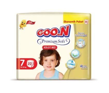 Goon Premium Külot Bebek Bezi 7 Beden 22 Adet