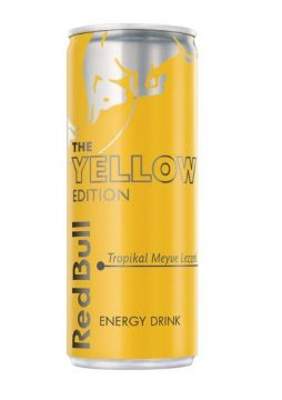 Red Bull Enerji İçeceği Yellow Edition 250 Ml