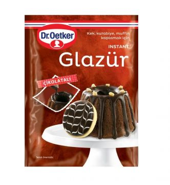 Dr.Oetker Çikolatalı Glazür 85 Gr