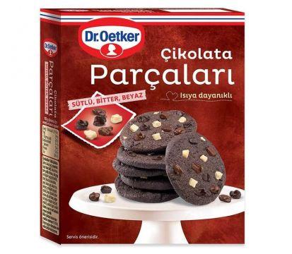 Dr.Oetker 70 Gr Sütlü Bitter Beyaz Çikolata Parçaları
