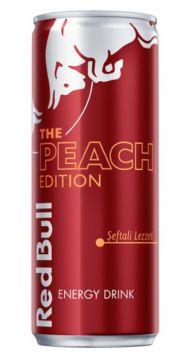 Red Bull Enerji İçeceği Peach Edition 250 Ml