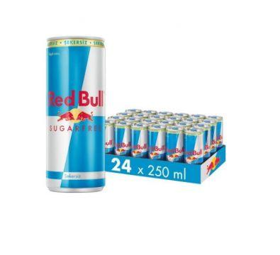 Red Bull Şekersiz 250 ML x 24 Adet - 1 Koli
