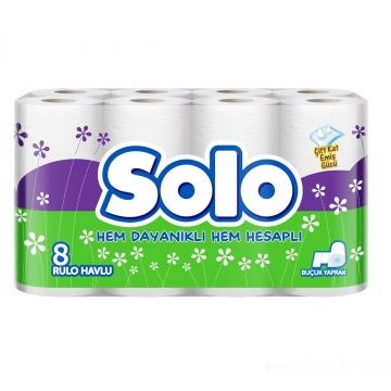 Solo Kağıt Havlu 8 Rulo