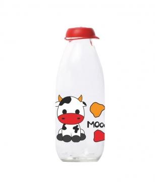Herevin Milky Moo Süt Şişesi 1 lt