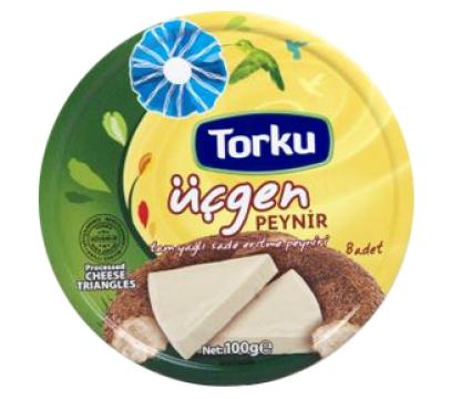 Torku Üçgen Peynir 8 Adet 100 gr