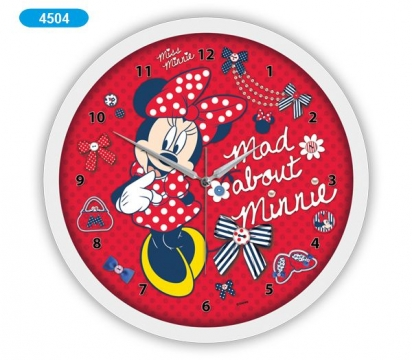 Disney Minnie Duvar Saati